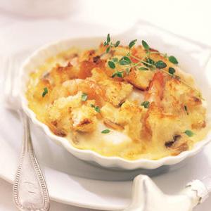 Alfred's Seafood & Cheddar Gratin