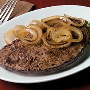 Pan-Fried Ox Liver, Onion Marsala Sauce & Creamy Mash